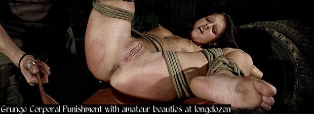 Longdozen - corporal BDSM punishment with amateur beauties