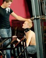 Fetishbar - Bisexual master in action....