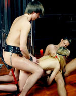 Fetishbar - Blindfolded and banged....