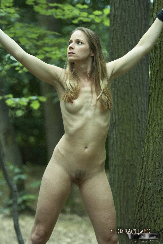 Alexa May young outdoor