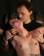 Subspaceland - Sexy slave tied up. Tif is...