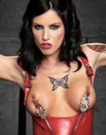 Ken Marcus - Tattooed babe Tricia Oaks...