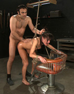 Kink On Demand - Tormented by cattle prods....