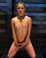 Kink On Demand - Rosie given breast bondage....