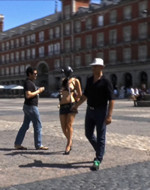 Kink On Demand - Madrid in a pig mask. Tied...