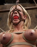 Kink On Demand - Breast bondage and ass...