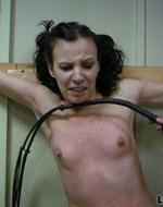 Longdozen - Brutal breast whipping....