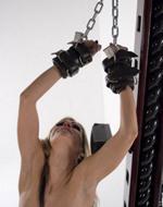 Serious Bondage - Chained to the bondage...