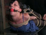 Elise Tied Up High. Elise Graves...