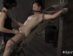 Slave girl for BDSM sex. Poppy James...