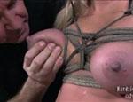 Bondage slut. Dia Zerva Predicament...