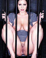 Caged and erotically tortured. Aria...