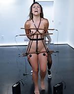 An Electrosex Lesbian BDSM Fix!...