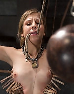 Brutally tormented during her...
