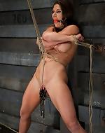 Brutal bondage and extreme pussy...