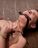 Caning and cumming. AnnaBelle is...