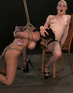 Hot Lesbian BDSM sex with Lorelei Lee...