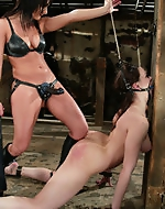 Lots of submission, hard punishment,...